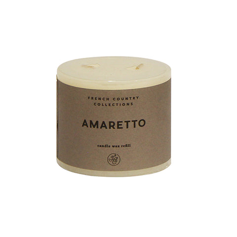 Amaretto Candle Wax Refill