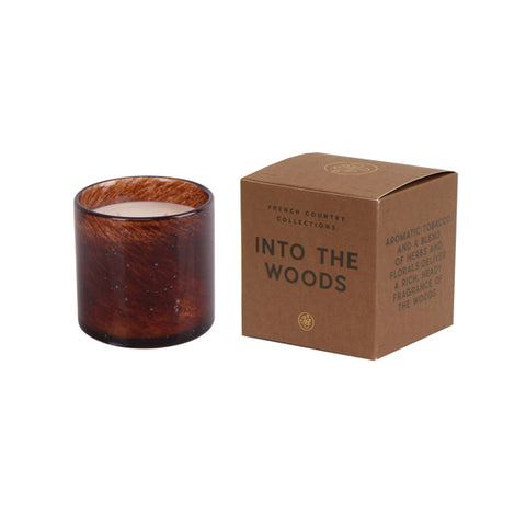 Into the Woods Glass Candle