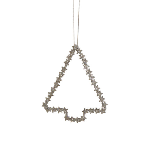 Silver Metal Hanging Tree
