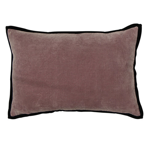 Pinot Velvet Cushion with Trim
