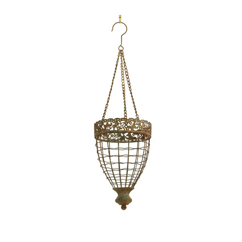 Lea Small Hanging Oval Planter