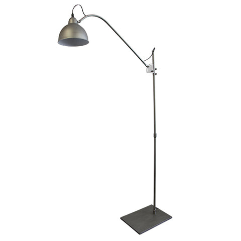 Kalee Brushed Tall Floor Lamp