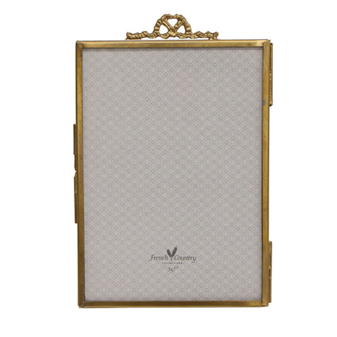 Simple Bow Brass Vertical Frame