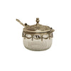 Jolie Antique Silver Pot with Spoon