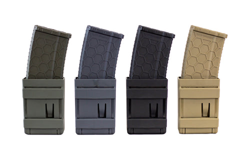 LIMITLESS GEAR ROCKET MCR MOLLE MAGAZINE POUCH CARRIER WITH HEXMAGS