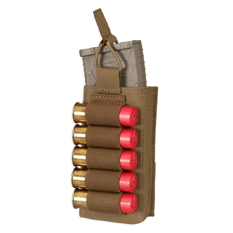 Single 5.56 / Shotgun Strip Magazine Molle Pouch