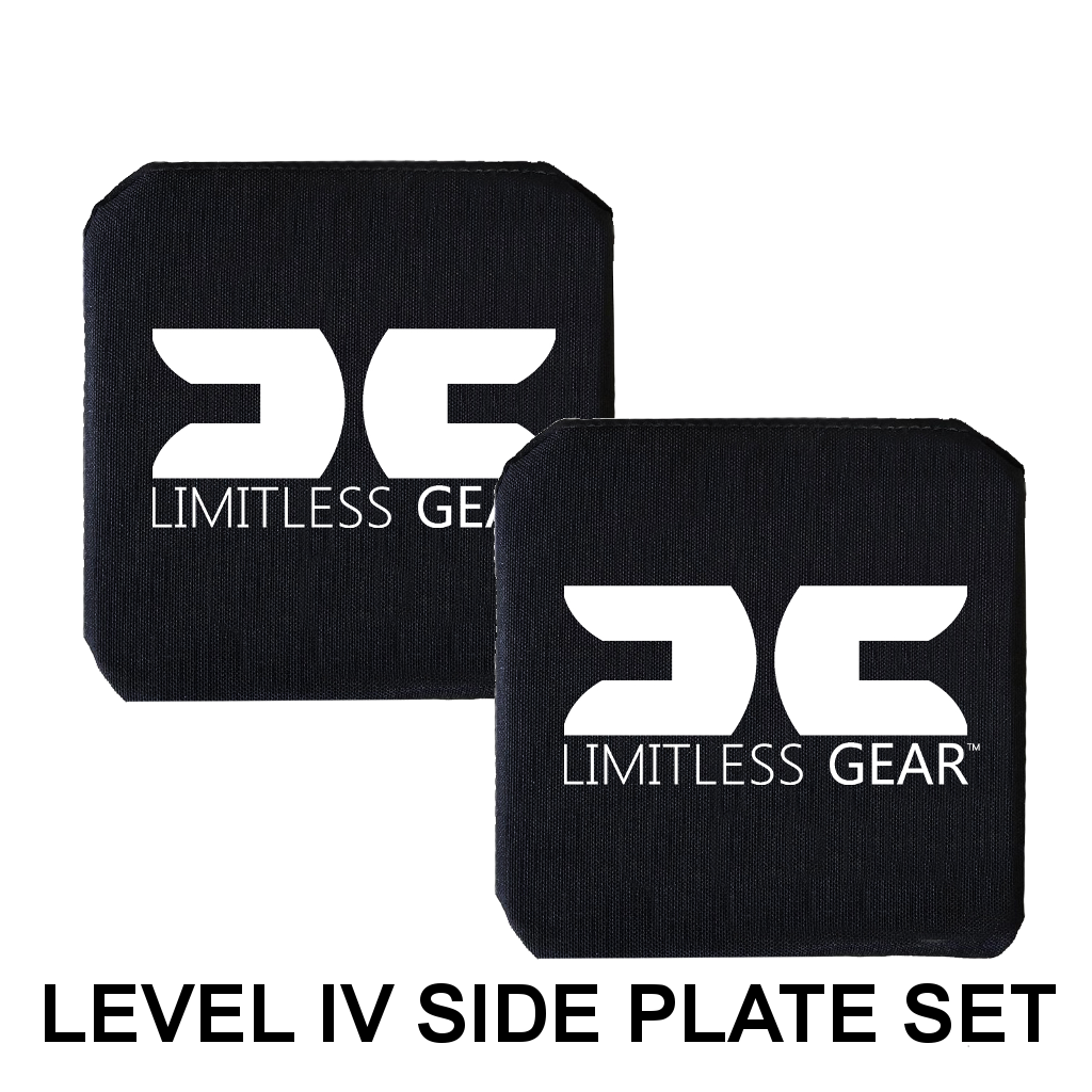 6 X 6 INCH NIJ 0101.06 CERTIFIED STAND ALONE LEVEL IV HARD ARMOR SIDE PLATE SET OF 2 FREE SHIPPING