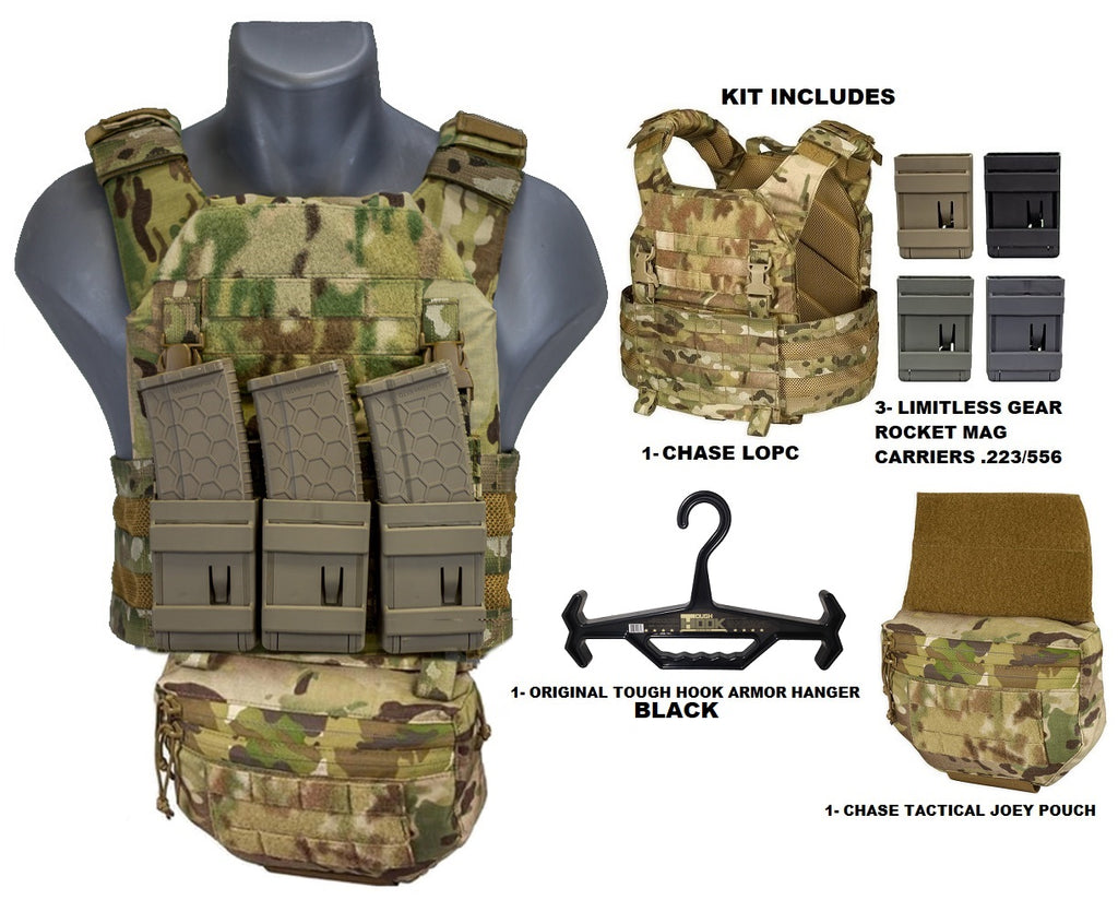 Lightweight Operational Plate Carrier (LOPC) Combo Kit 2 - Chase Tactical