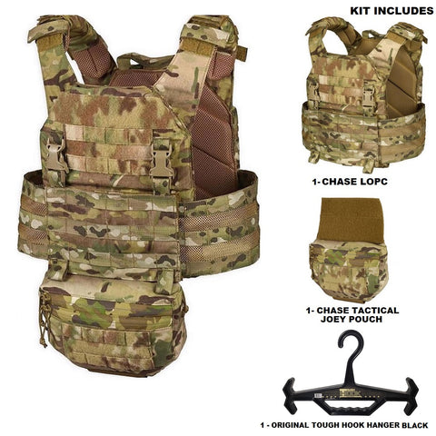 Lightweight Operational Plate Carrier (LOPC) Combo Kit 4 - Chase Tactical