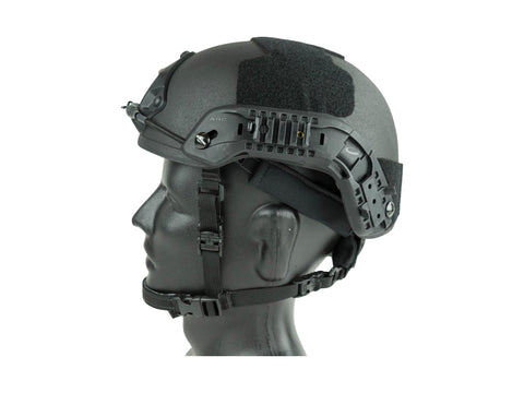 STRIKER Level IIIA Advanced Combat Helmet ACH/MICH RAILS SHROUD CAM FIT FREE SHIPPING