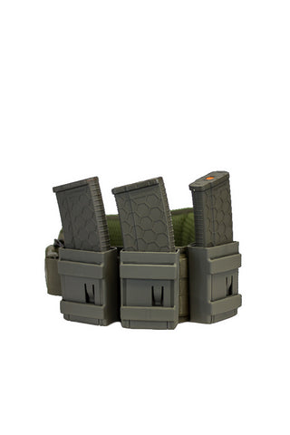 ROCKET MC-R Magazine Carrier -OD .223/5.56/AR15 USA MADE (IN STOCK-FREE SHIPPING)