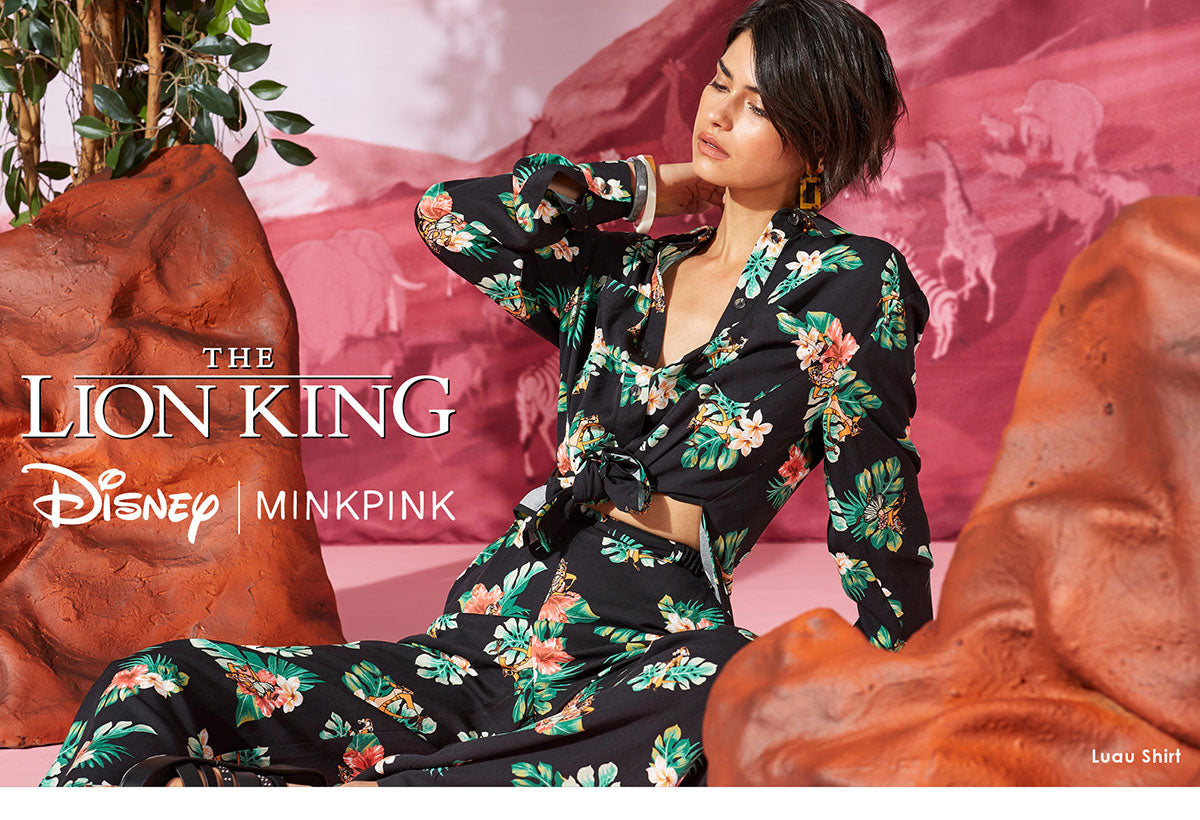 The Lion King x MINKPINK