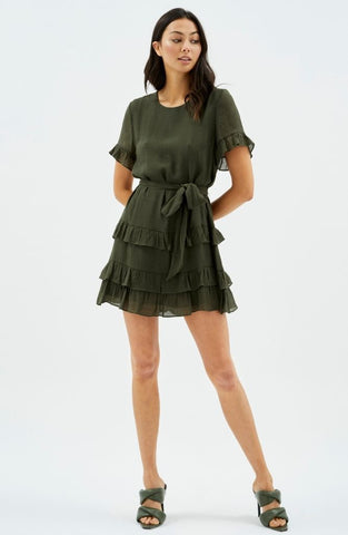 Logan Frill Mini Dress