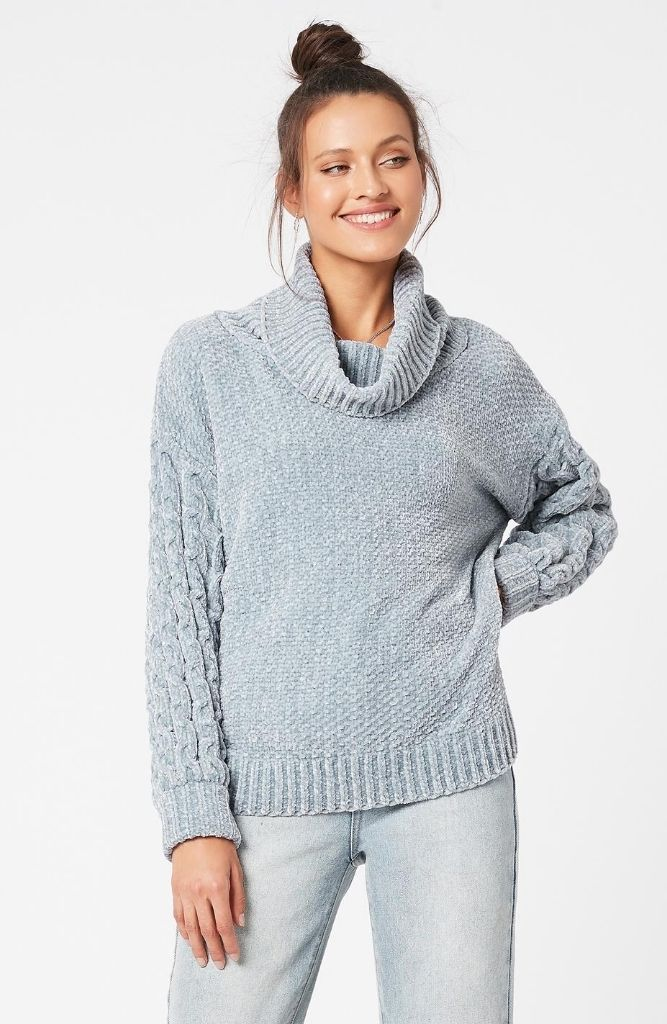MINKPINK TIMELESS ROLL NECK JUMPER