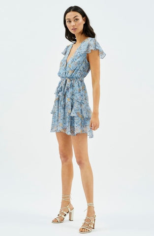 Cheyenne Frill Mini Dress