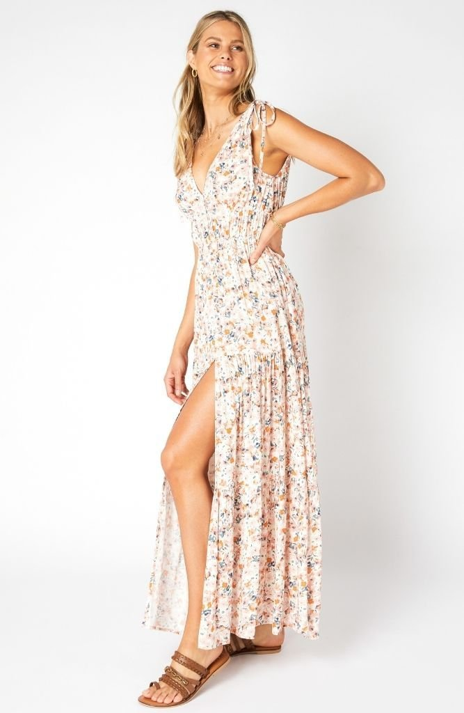 Samaria Sun Tiered Maxi Dress