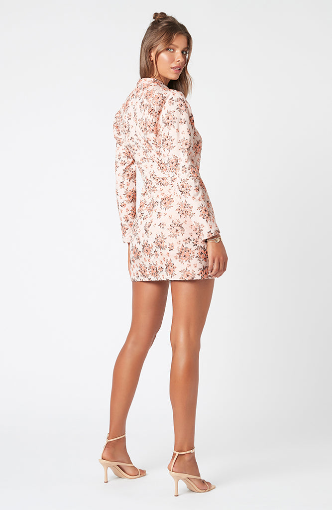 Macey Floral Mini Dress