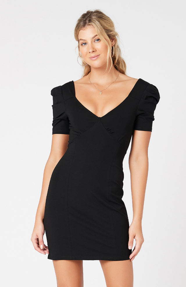 Puff Sleeve Dress (4317503389789)