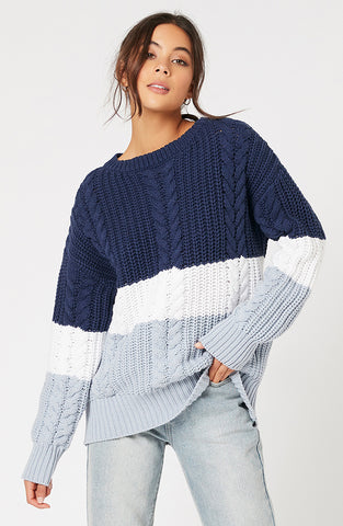 Blue Afternoon Sweater