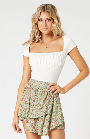 Madelyn Ruched Bust Top (4598530900061)