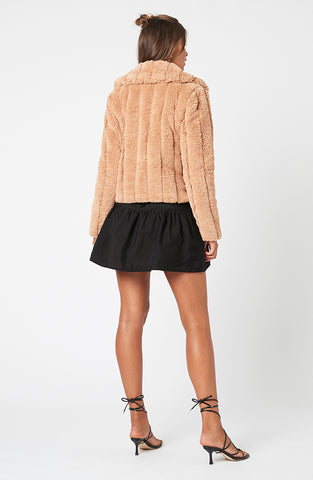 Sable Faux Fur Jacket