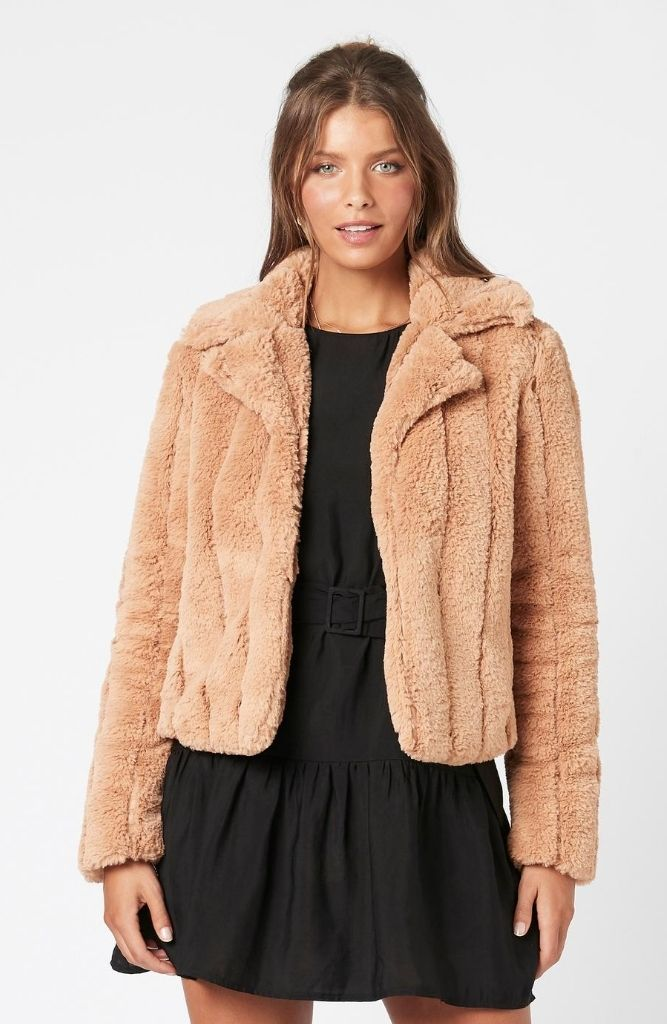 MINKPINK Sable Faux Fur Jacket