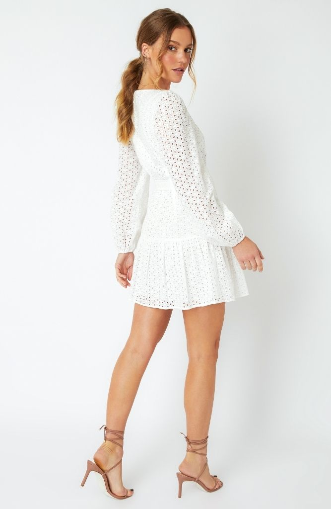 Kenzie Anglaise Mini Dress
