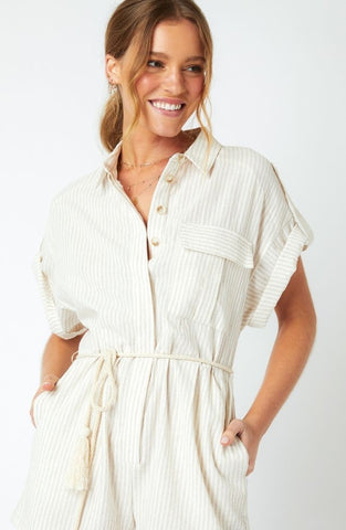 Gina Stripe Playsuit