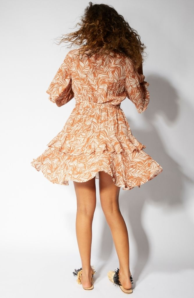 Katey Ruffle Mini Dress