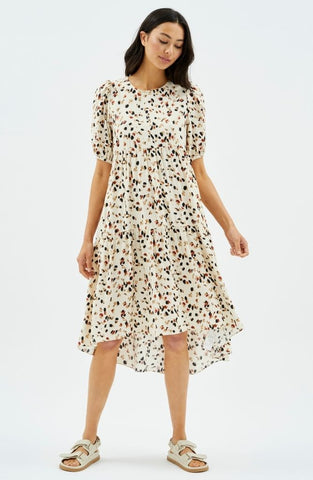 Lyra Hi-Low Midi Dress