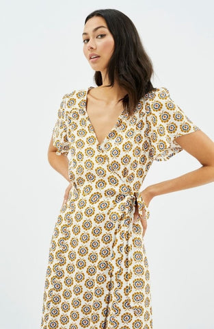 Bree Wrap Midi Dress