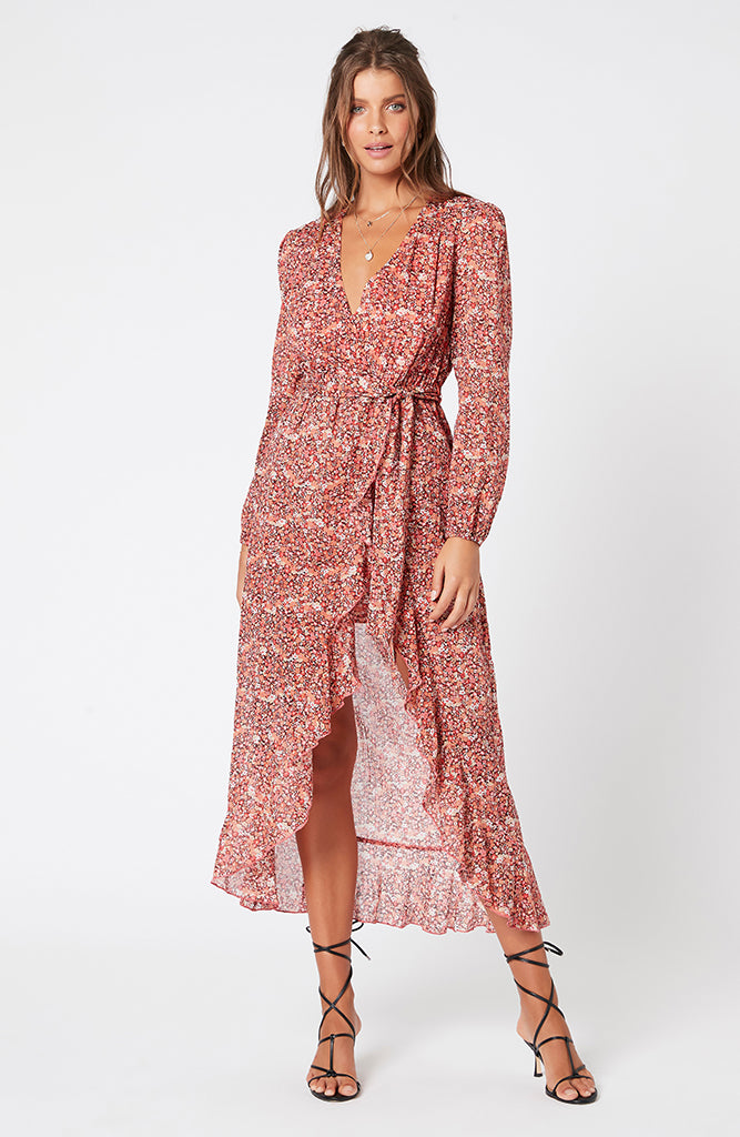 MINKPINK Heirloom Blossom Maxi Dress