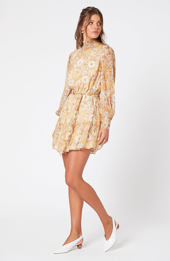 Sunshine Floral Mini Dress