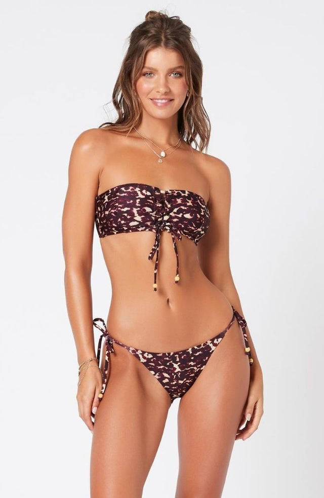 Retrospect Lace Up Bandeau