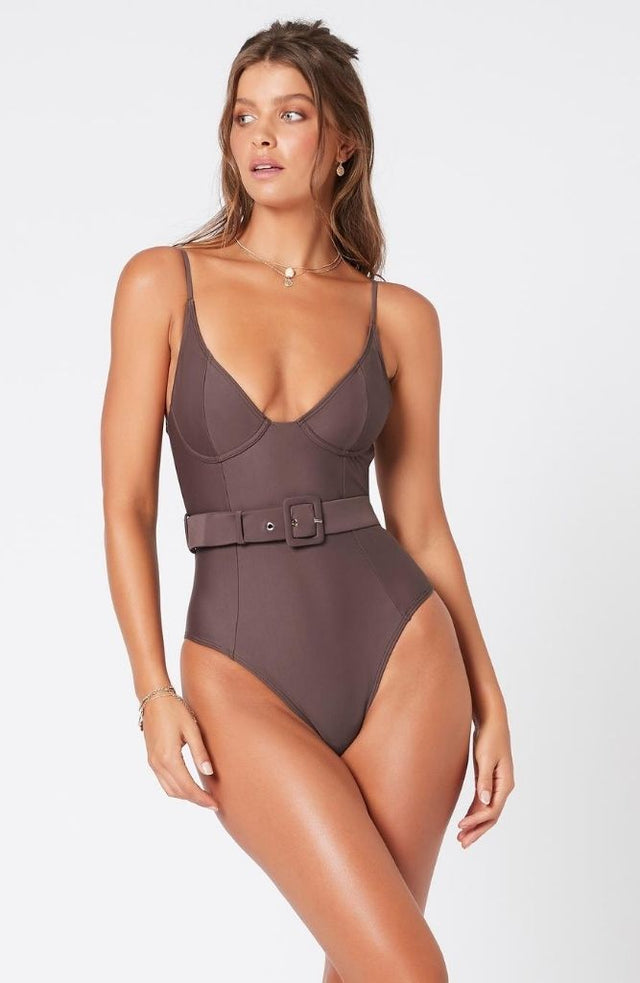 Coco Belted One Piece