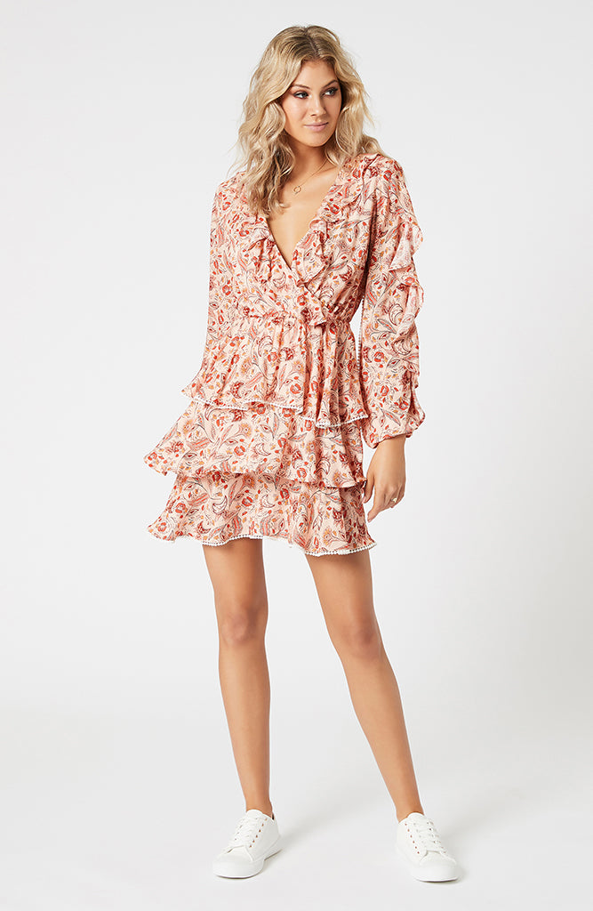 Terracotta Dweller Mini Dress (4474145538141)