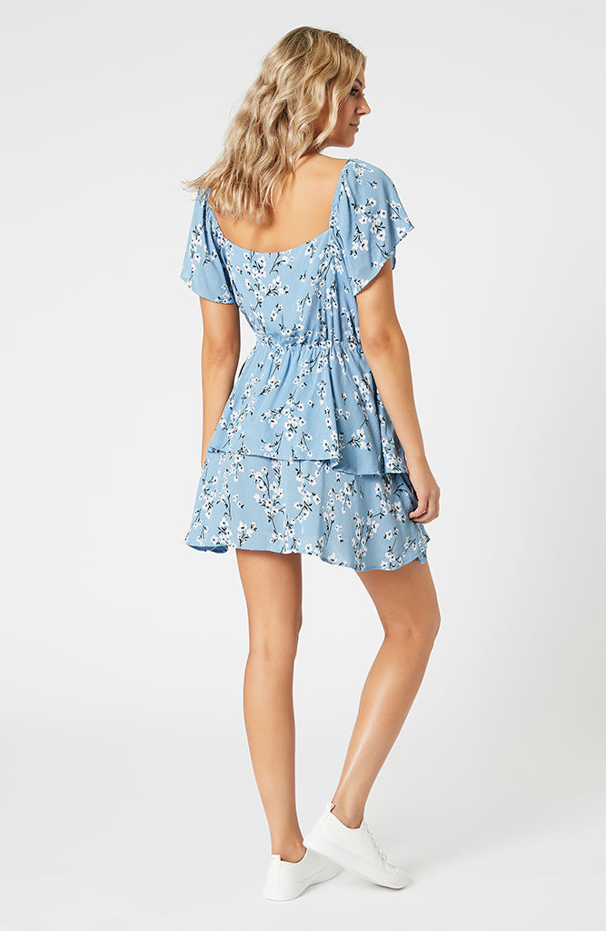 Bluebell Fields Mini Dress