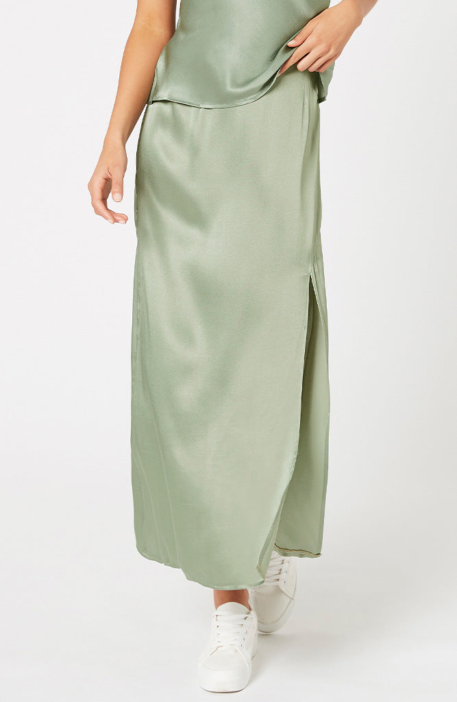 MINKPINK Sale Sun Catcher Satin Skirt