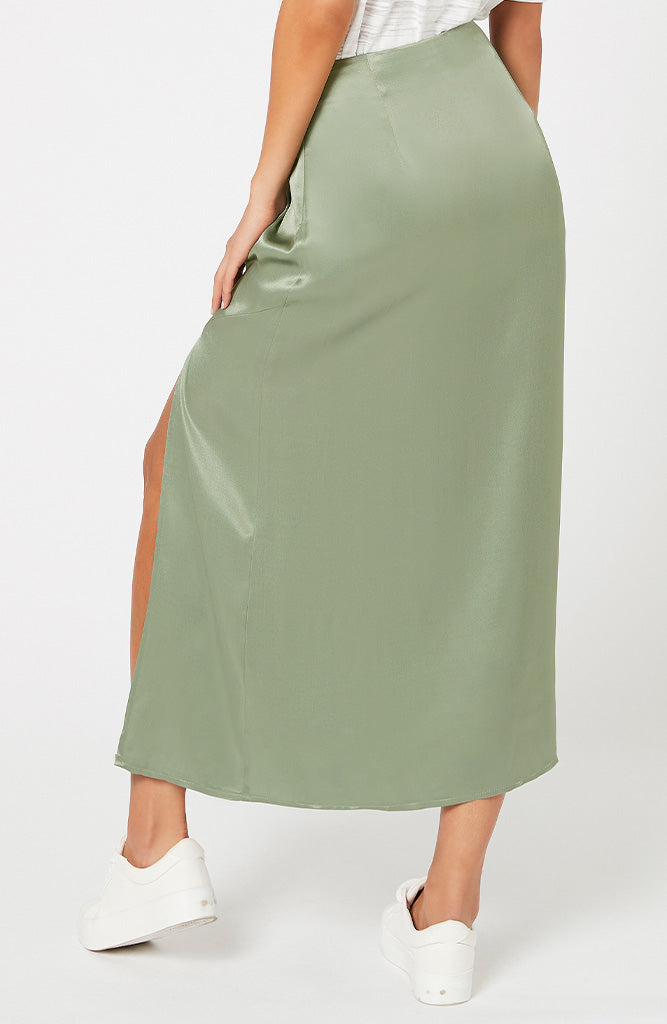 Sun Catcher Satin Skirt