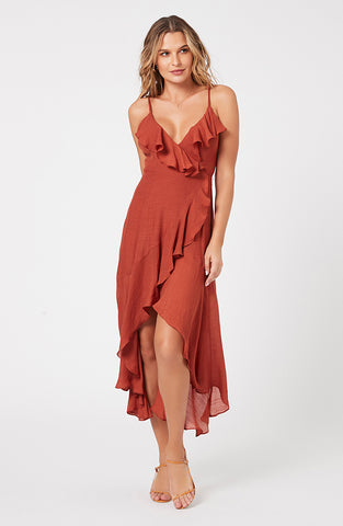 Corsage Maxi Dress