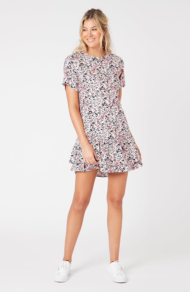 Make Your Move Floral Mini Dress