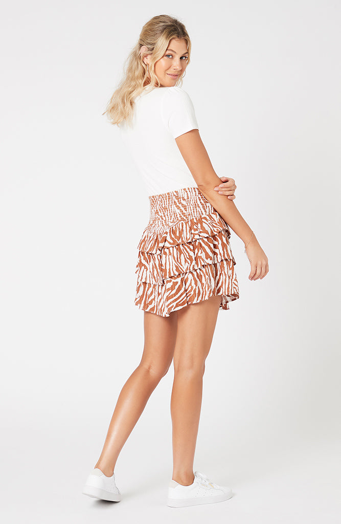 Young And Wild Mini Skirt