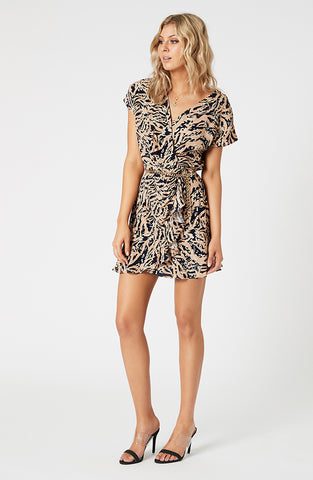Biscuit Swirl Mini Dress