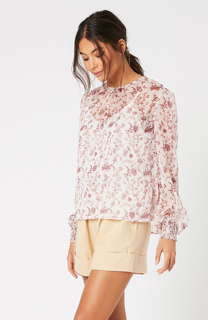 Make Your Move Chiffon Blouse (4551572291677)