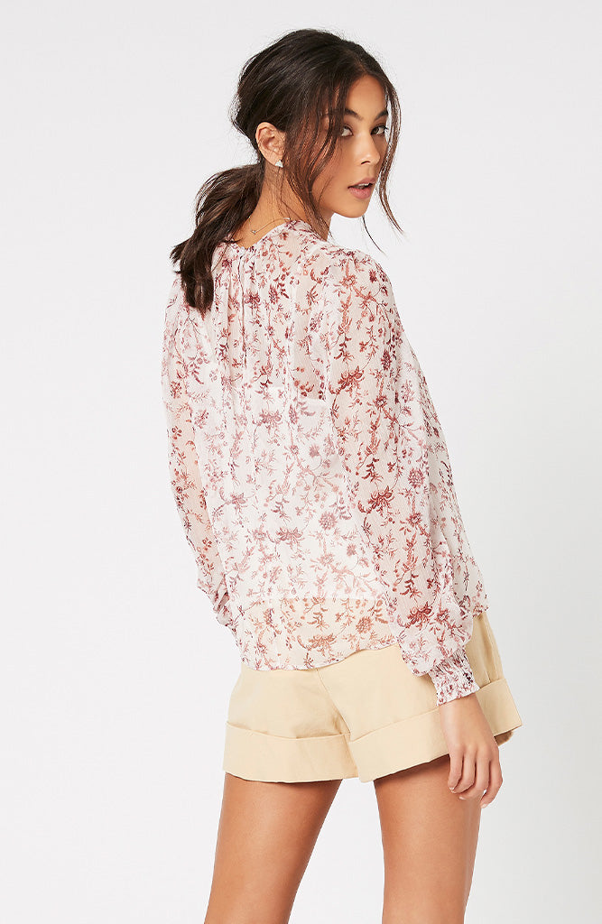 Make Your Move Chiffon Blouse