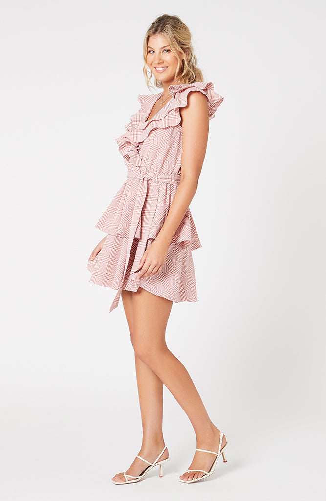 Check Mini Dress (4507787264093)