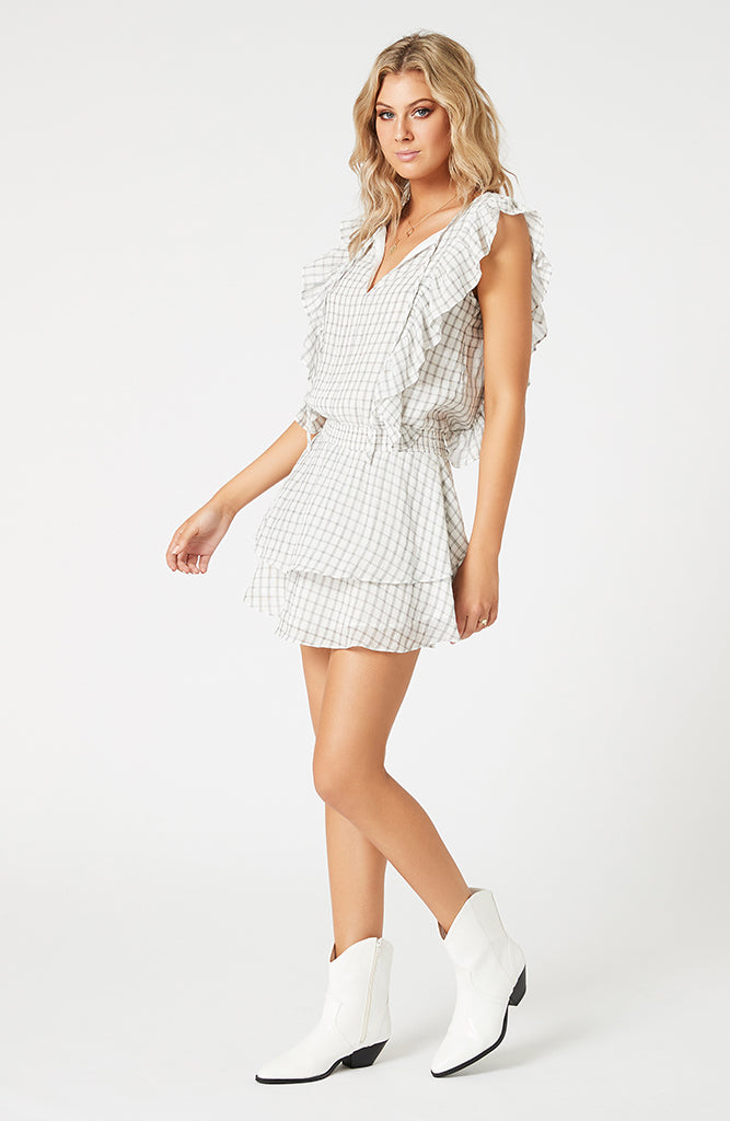 Pippa Soft Check Mini Dress (4474145439837)
