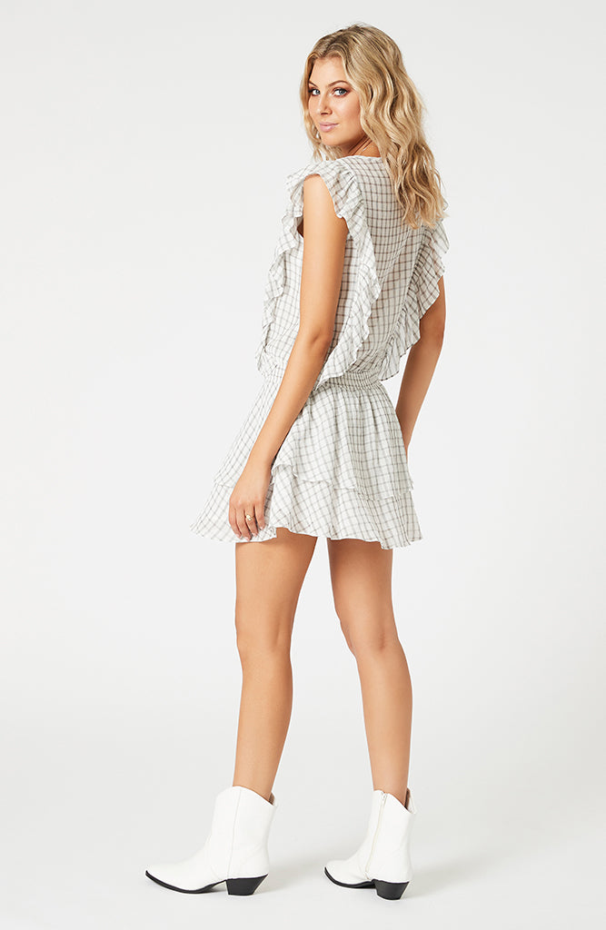 Pippa Soft Check Mini Dress