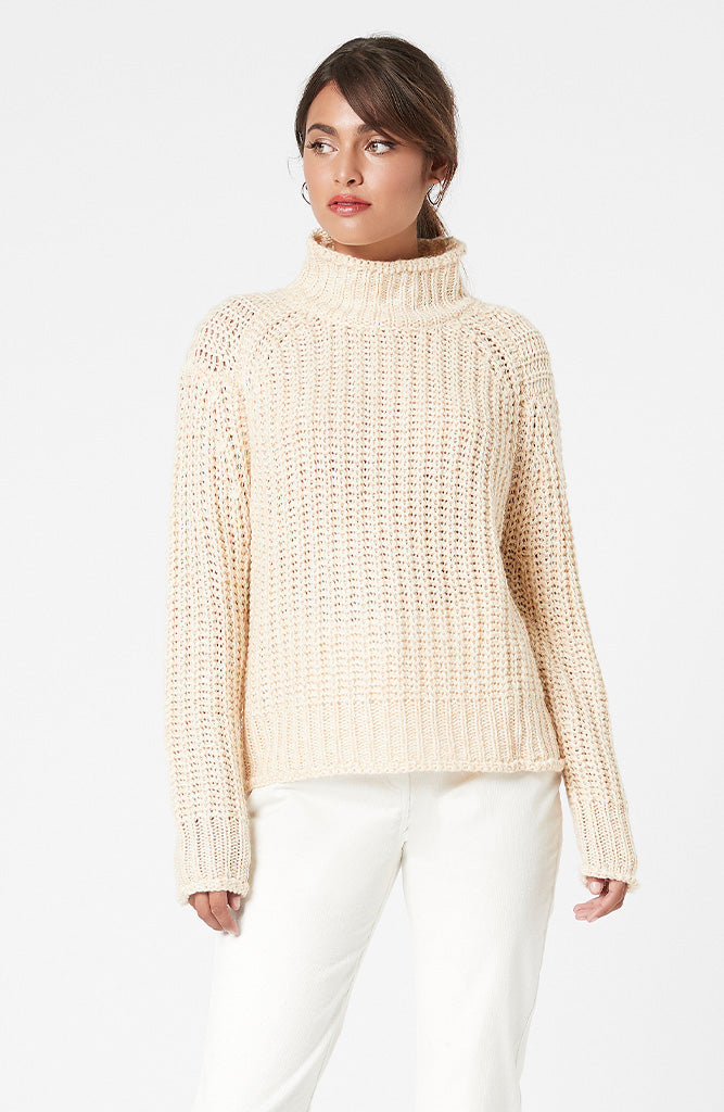MINKPINK Sofia High Neck Knit Jumper