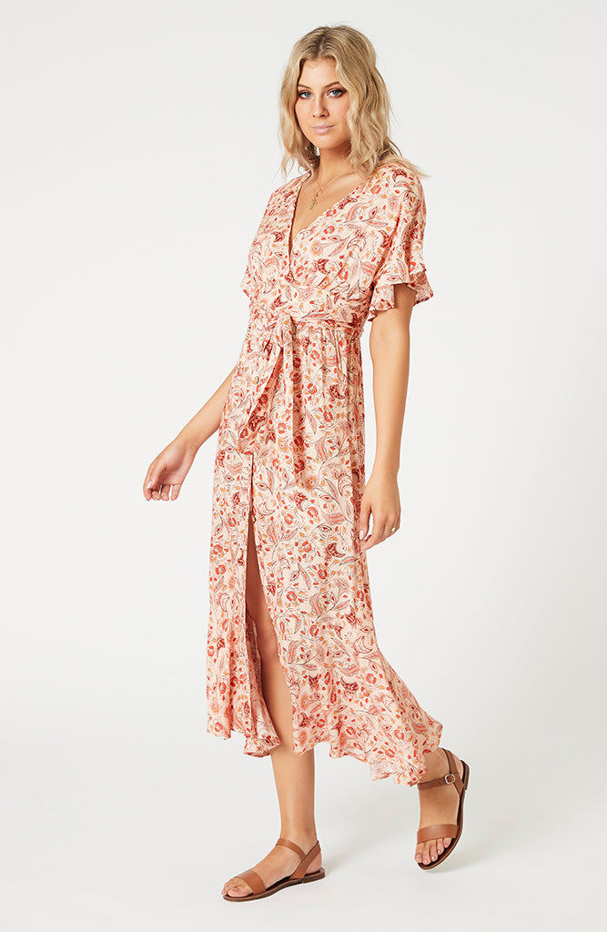 Terracotta Dweller Midi Dress